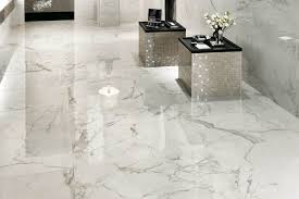 white porcelain tile floor. Great Floor Porcelain Tiles Polished Cork Bathroom White Tile