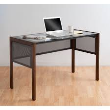 glass top office table. Kitchen Beautiful Glass Top Office Table Line Ii Desk By Studio Designs