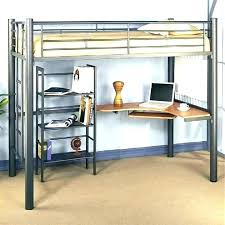 metal bunk bed with desk. Wonderful Bunk Bunk Bed Desk Combo And Over Metal   Inside Metal Bunk Bed With Desk E