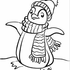 Small Picture A Realistic Drawing of Humboldt Penguin Coloring Page A Realistic