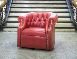 red leather club chair red leather swivel chair christopher knight home oxblood red bonded leather tub club chair