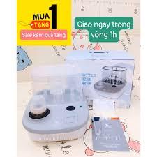 Máy tiệt trùng sấy khô và hâm sữa Moaz BéBé MB-005 tặng kèm 1 bịch khăn  Aiko cao cấp giảm tiếp 1,485,000đ
