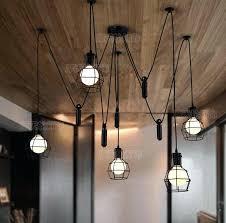 diy hanging lamp pendant lights modern retro lamps bulb fixtures spider ceiling fixture light for living diy hanging lamp