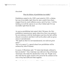 prohibition essays prohibition essays and papers essays term