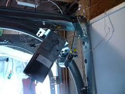zero clearance garage door opener