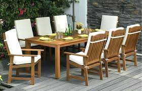 square outdoor dining table seats 8 awesome collection of outdoor dining furniture seats with additional round