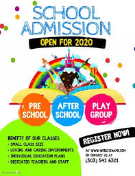 Now Open Flyer Template School Admission Flyer School Admissions School