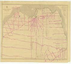 Gulf Coast Nautical Charts Amazon Com Vintography 18 X 24 Canvas 1878 Us Old Nautical