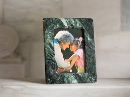 vermont verde antique marble picture frame 5 7