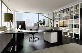 chrome office desk. Contemporary Office Design Ideas Pictures Collection : Amazing L Shape Glass Desk With Chrome D