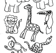 animal coloring pages l animal coloring pages animals fun time of zoo for free printable animal animal coloring pages