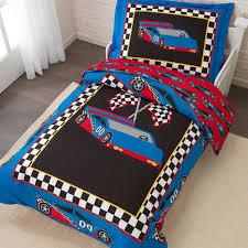Racecar Toddler Bedding Set KidKraft