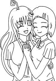 Small Picture Best Friends Printable Coloring Pages Wecoloringpage