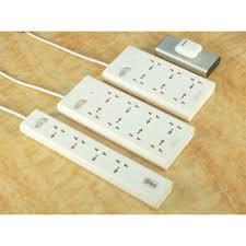 Ổ cắm điện chịu tải Calibra 4 lỗ/ 6 lỗ/ 8 lỗ loại 1 công tắc nguồn -  Calibra Việt Nam trực tiếp sản xuất và phân phối tại Hà Nội