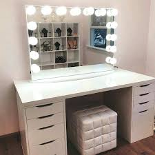 makeup table chair white desk small vanity black rh myfitaide