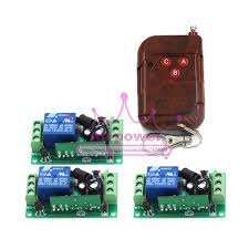 12v 1ch rf wireless remote control receiver momentary switch relay pertaining to replacement garage door opener
