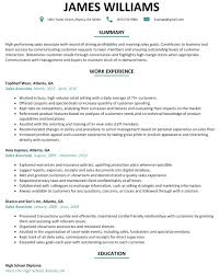 Salesperson Resume Objective Appealing Examples Of Objectives For