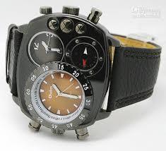 oulm men s fashion sports military watch dual time oulm men s fashion sports military watch dual time quartz movement compass decoration gif