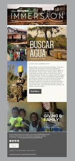 Ngo Newsletter Templates Immersion Team With Mission In Mozambique Ngo Newsletter