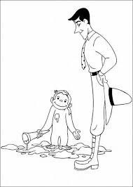 Printable Curious George Coloring Pages 4968 Curious George