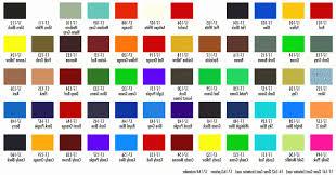 Napa Auto Paint Color Chart 78 Particular Nason Paint Colors