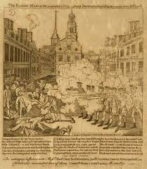 today in media history in the boston gazette reported on title quot the bloody massacre perpetrated in king street