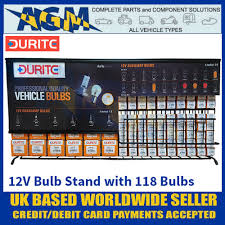 12 Volt Lighting Parts Durite 7 999 12 12 Volt Bulb Display Stand With 118 Replacement Bulbs