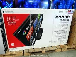 80 Inch Tv Sharp Led Sierra Console