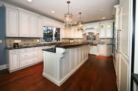 Raised Kitchen Floor Classic Custom Cabinets Rumson New Jersey By Design Line Kitchens