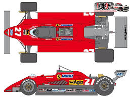 The car was a development of the previous model but was about 20 kg lighter. 1 24 Ferrari 126c2 Sponsor Decal Set For Protar Shk D370 Shunko Models