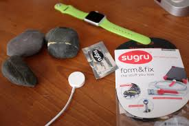 it wasn t long before we started seeing watch holders everywhere in fact with a pack of sugru just