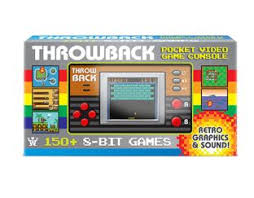 Throwback Pocket Video Console Gifts | Age 8 Buy Toys for 8-Year-Old Boys