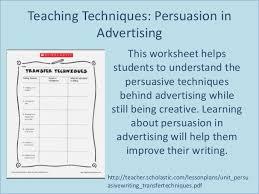 Methods of persuasion in writing