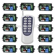Best Rf Wireless Remote Control Light Switch 220v Power Switch