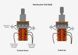 push pull pots how they work, wiring mods, and more! Wiring Split Humbucker Dpdt Pot fralin coil split diagram Dpdt Relay Wiring