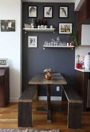 Small Space Dining Room Design Tips Apartment Therapy Magnificent Small Space Dining Room Plans