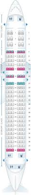 United Plane Seating Chart Seat Map United Airlines Airbus A320 Seatmaestro