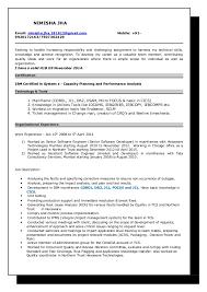 Certified Developer Resume Mainframe Developer Resume Magdalene Project Org