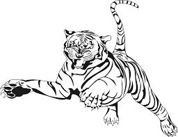 Coloriage A Imprimer De Tigre L