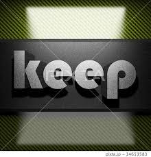 「keep word」の画像検索結果