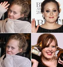 adele without makeup stylefrizz me quiz what colour makeup suits you