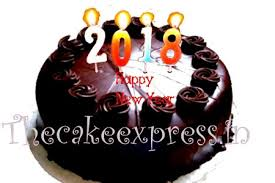 Send Happy New Year Chocolate Cake To Noida Online Celebrate New