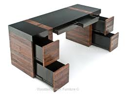 modern rustic desk sustainable office furniture soft