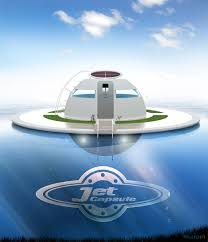 Pod Home Ufo The Solar Charged Floating House For Off Grid Living On