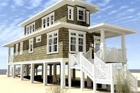 best choice of stilt beach house plans on stilts floor wood