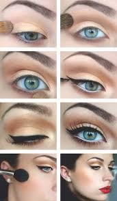 1950 39 s style make up tutorial keyword images tutorial authentic 1950s easy 50 50s eyeliner