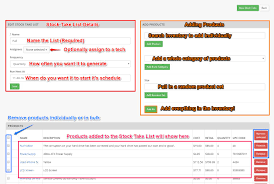 How To Do An Inventory List Stock Take Inventory Reconciliation And Updates