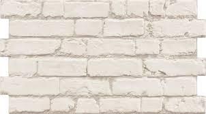 manhattan rustic white brick effect