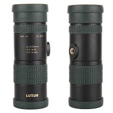 BAK4 Portable <b>8-24</b> Zoom Telescope <b>HD</b> Monocular Night Vision ...