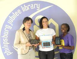 CaribServe supports Library on Telecommunication Day | St Maarten  Philipsburg Jubilee Library